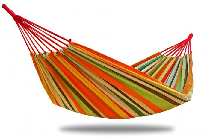 Tuchhängematte Single / Doppel - orange