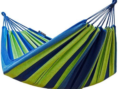 Doppel Hängematte Blau-grün